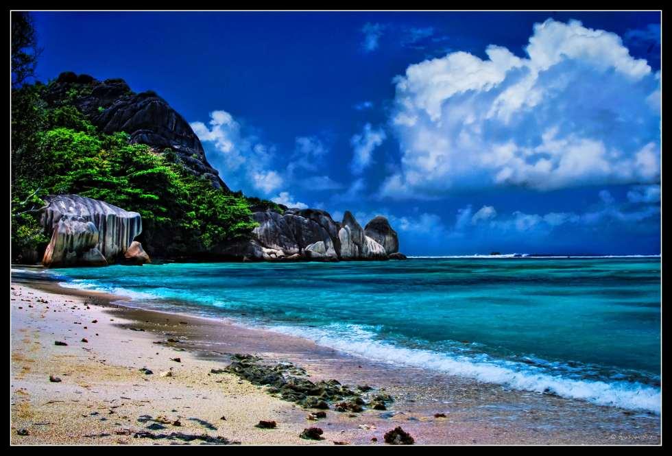 Anse Source, La Digue, Seychelles