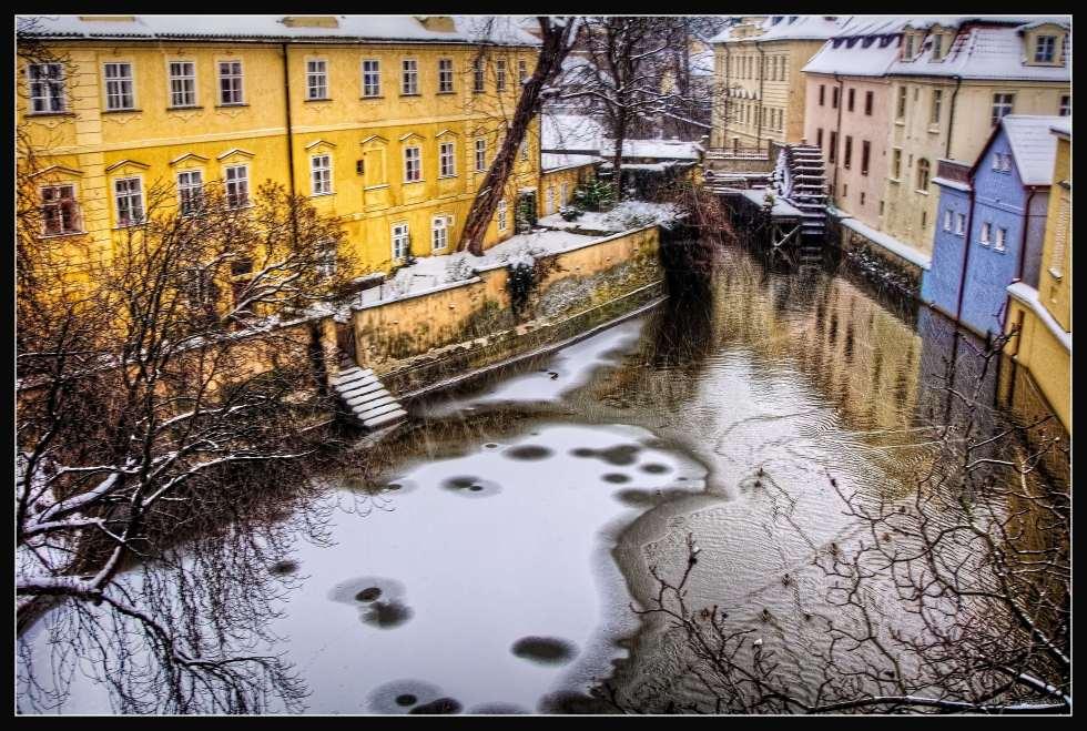 View from St Charles Bridge, Prague