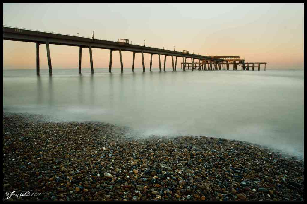 Deal Pier, Kent, Sunset, March 2011