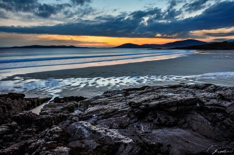 Midnight Sun, Seilebost - Isle of Harris